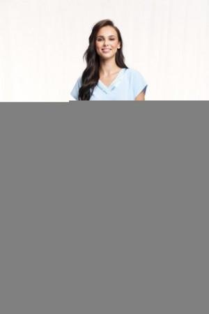 Luna 603 4XL Dámské pyžamo 4XL modrá