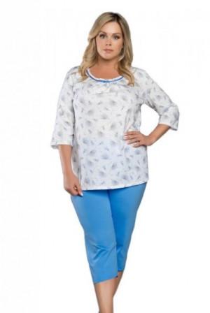 Italian Fashion Lawenda 3/4 Dámské pyžamo L Mix