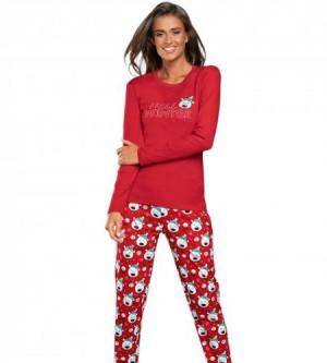 Italian Fashion Czoka červené Dámské pyžamo L červená
