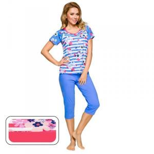 Regina 911 malinové Dámské pyžamo M malinová