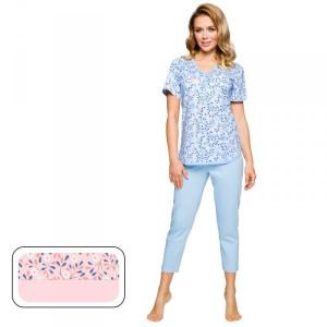 Regina 915 růžové Plus Dámské pyžamo 2XL růžová