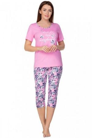 Regina 937 růžové Plus Dámské pyžamo 2XL růžová