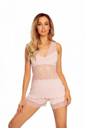 Eldar Patrizia růžové Dámské pyžamo M světle růžová