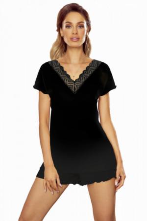 Eldar Chiara černé Plus Dámské pyžamo 3XL černá