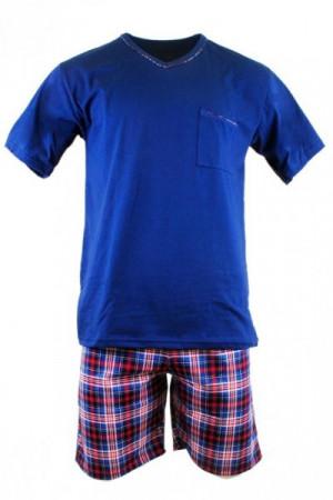 Cornette 329/113 Steve tmavě modré Pánské pyžamo M tmavě modrá