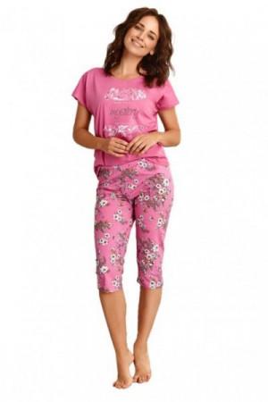 Taro Agnieszka 2369 růžové Dámské pyžamo S růžová