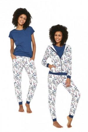 Cornette Kelly 355/205 Ecru Dámské pyžamo S ecru
