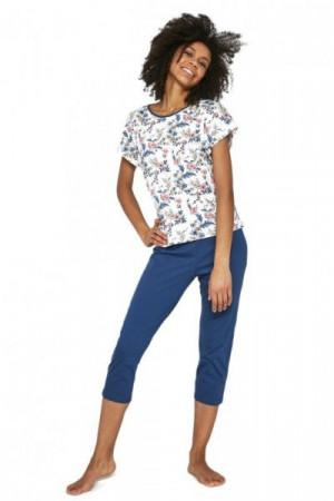 Cornette Sophie 2 372/201 Ecru Plus Dámské pyžamo 3XL ecru