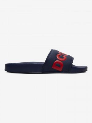 Pantofle DC Modrá