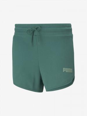 Modern Basics Šortky Puma Zelená