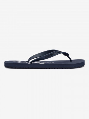 Beach Sandal Monogram Žabky Calvin Klein Modrá