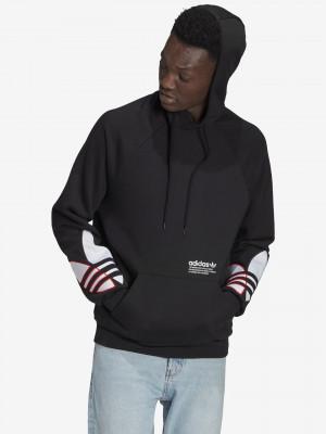 Adicolor Tricolor Mikina adidas Originals Černá