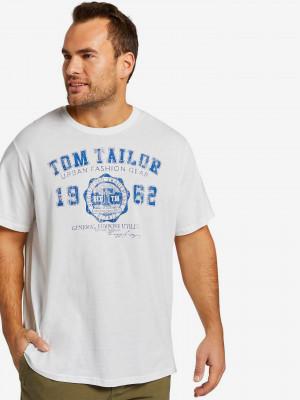 Triko Tom Tailor Bílá