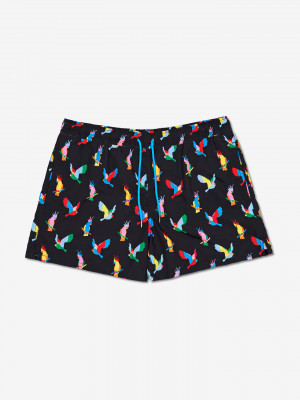 Cockatoo Plavky Happy Socks Černá