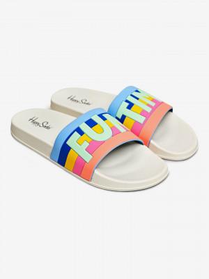 Pool Slider Fun Time Pantofle Happy Socks Barevná