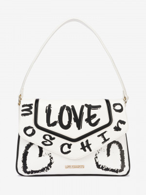 Kabelka Love Moschino Bílá