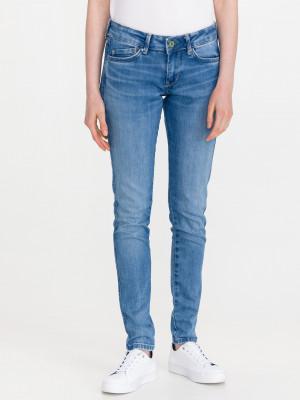 Pixie Stitch Jeans Pepe Jeans Modrá