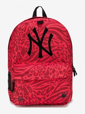 New York Yankees MLB Batoh New Era Červená