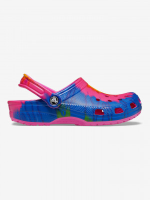 Classic Tie-Dye Graphic Clog Crocs Crocs Barevná
