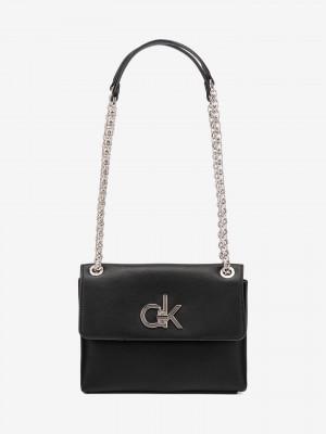 Ew Conv Flap Cross body bag Calvin Klein Černá