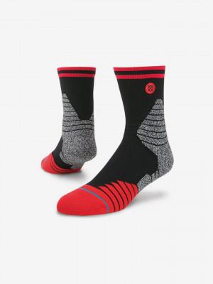 Speedway V3 QTR Ponožky Stance Černá
