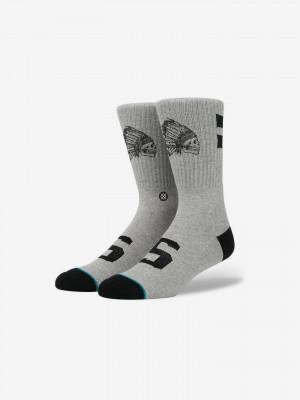 Warfare Ponožky Stance Šedá