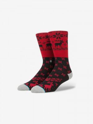 Blitzn Ponožky Stance Červená