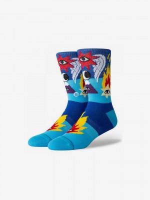 Ricardo Cavolo Shooting Star Ponožky Stance Modrá
