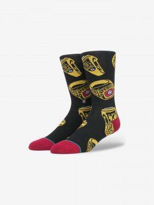 Fame Ring Ponožky Stance Černá