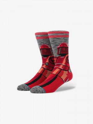 Red Guard Ponožky Stance Červená