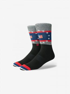 USA Praise Ponožky Stance Černá