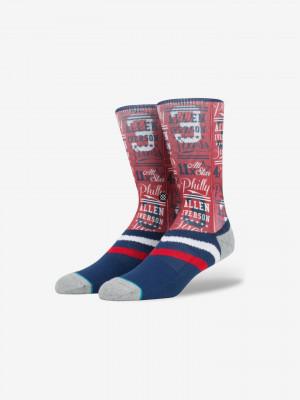 Iverson Stats Ponožky Stance Modrá