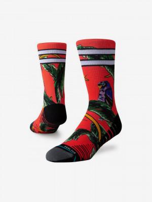 Tripicana Crew Ponožky Stance Červená