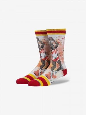 Nique Ponožky Stance Červená