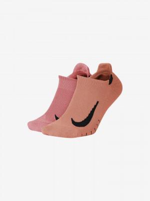 Multiplier No Show Ponožky Nike Růžová
