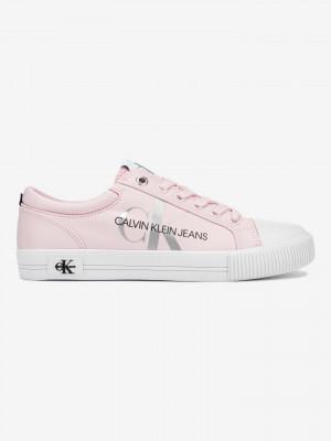 Lace Up Tenisky Calvin Klein Růžová