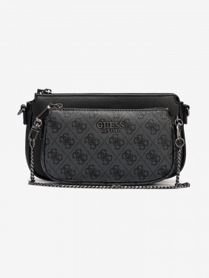 Mika Double Pouch Cross body bag Guess Černá