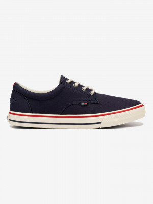 Textile Sneaker Tenisky Tommy Hilfiger Modrá