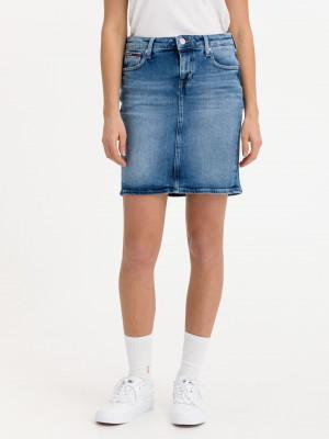 Classic Denim Sukně Tommy Jeans Modrá