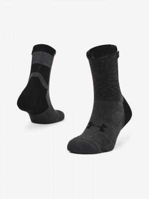 ArmourDry Run Crew Ponožky Under Armour Černá