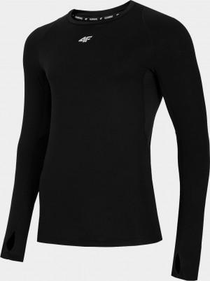 Pánské běžecké tričko 4F TSMLF012 černé