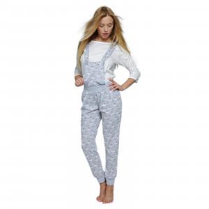 Dámské pyžamo Lovely šedobílá - Sensis