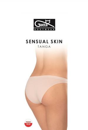 Dámské kalhotky Gatta 41645 Tanga Sensual Skin