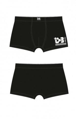 Pánské boxerky VBE-453 Clasic - C+3 černá