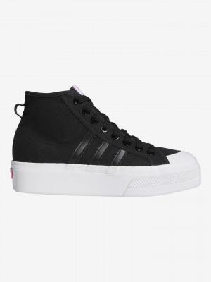 Nizza Platform Mid Tenisky adidas Originals Černá