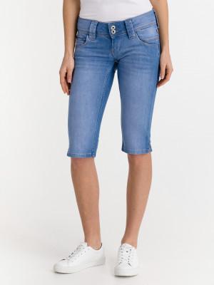 Venus Crop Šortky Pepe Jeans Modrá