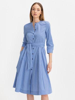 Šaty Tommy Hilfiger Modrá