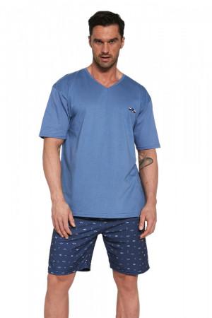 Pánské pyžamo 326/112 John - CORNETTE džínová