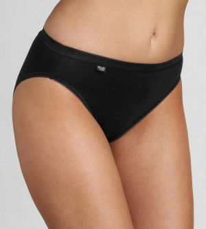 Dámské kalhotky Basic+ Tai 2P - BLACK - SLOGGI BLACK - SLOGGI