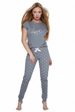 Dámské pyžamo Lucia šedé